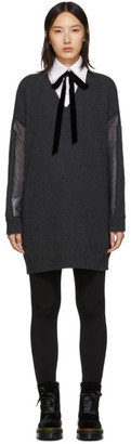 McQ Grey Tunic Dress