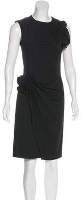 Diane von Furstenberg Bow-Accented Sheath Dress