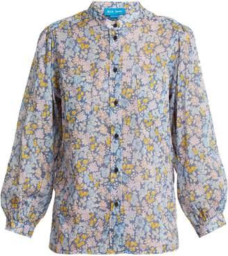 MiH Jeans Lilli Treelove-print cotton shirt