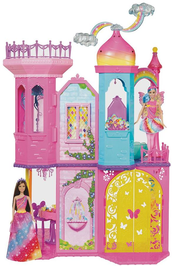 Barbie Barbie Dreamtopia Rainbow Cove Princess Castle Playset