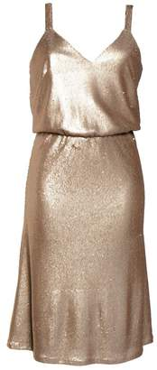 Dress the Population Cameron Sequin Blouson Dress
