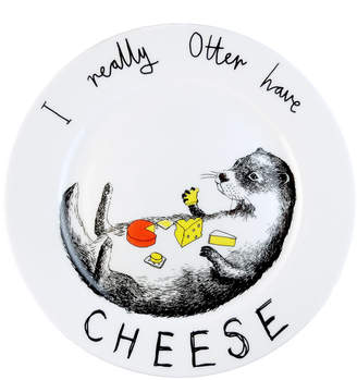 Jimbobart - 'I Really Otter Have Cheese' Side Plate