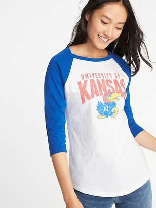 Old Navy College-Team 3/4-Length Raglan Tee for Women