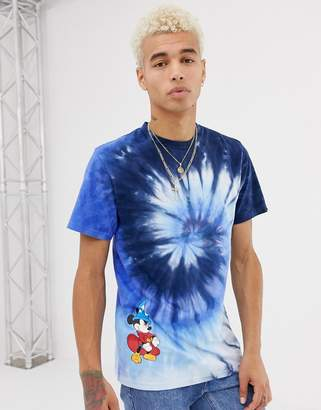 Vans x Mickey Mouse tie dye t-shirt in blue VN0A3IK7XH41