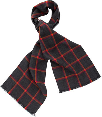 Chelsfield Check Scarf $175 thestylecure.com