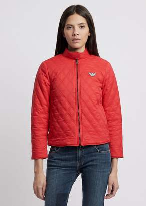 eca134c5 Emporio Armani Red Women's Jackets - ShopStyle
