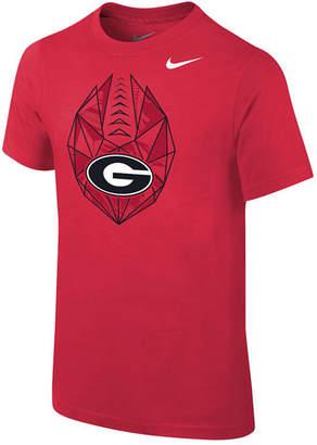 Jordan Nike Georgia Bulldogs Icon T-Shirt, Big Boys (8-20)