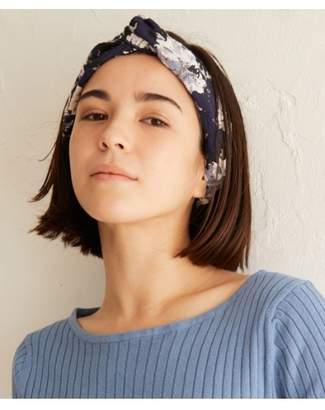 aquagirl (アクアガール) - エージー バイ アクアガール フラワー刺繍ヘアターバン