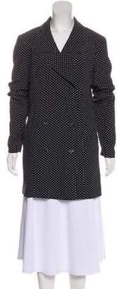 Reformation Polka Dot Casual Jacket