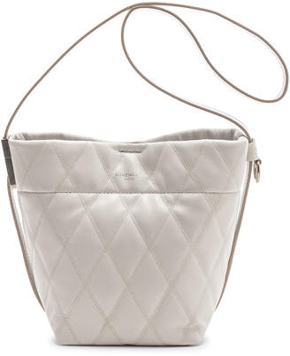 Givenchy Mini GV Convertible Bucket Bag in White   FWRD