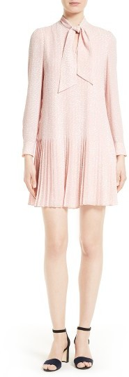 Kate Spade Women's Kate Spade New York Dappled Pleat Georgette Dress