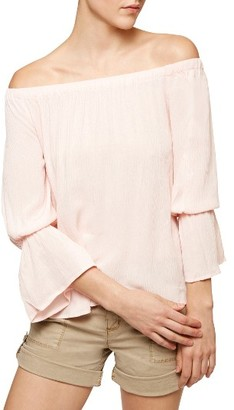 Petite Women's Sanctuary Off The Shoulder Blouse $79 thestylecure.com