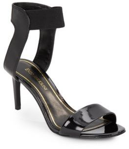 Isadora Patent Leather Sandals $89 thestylecure.com