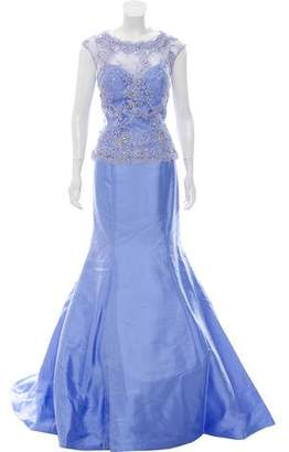 Jovani Sweetheart Neckline Embellished Gown