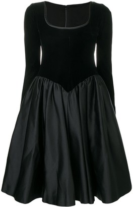 Saint Laurent Pre-Owned 1990's flared dress