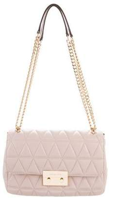 Michael Kors Quilted Leather Crossbody Bag