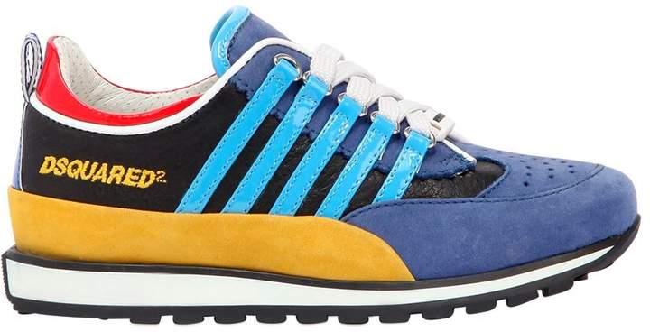 251 Patent Stripes Nubuck Sneakers