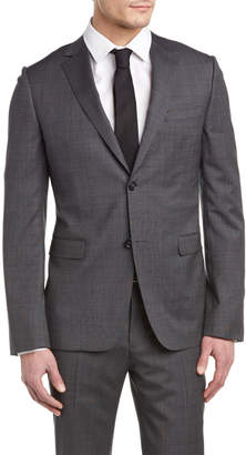 Ermenegildo Zegna Slim Fit Wool Suit With Flat Front Pant