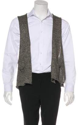eskandar Linen Sweater Vest