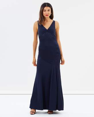 Camilla And Marc Harper V-Neck Gown
