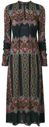 Etro paisley print long dress
