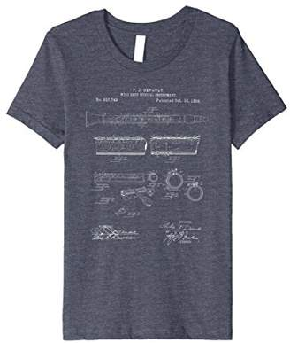 Vintage Patent Print 1894 Clarinet Player T-Shirt