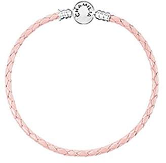 Chamilia Blush Leather Charm Bracelet
