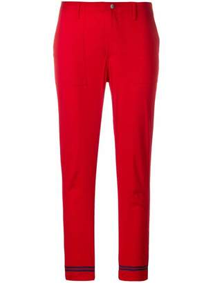 Philosophy di Lorenzo Serafini contrast edge cropped trousers
