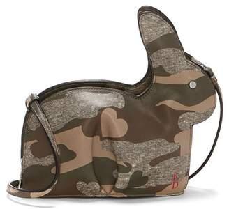 ED Ellen Degeneres Carot Faux Leather Crossbody Bag