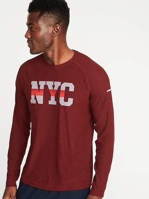 Old Navy Go-Dry Graphic Tee for Men