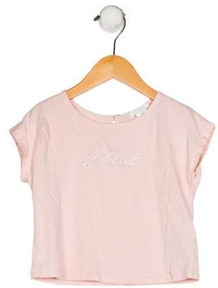 Chloé Girls' Embroidered Top