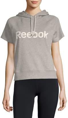 Reebok Women's Throwback Short-Sleeve Hoodie