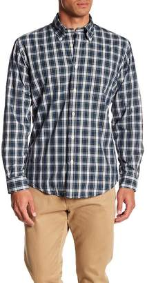 Brooks Brothers Lined Tartan Print Shirt