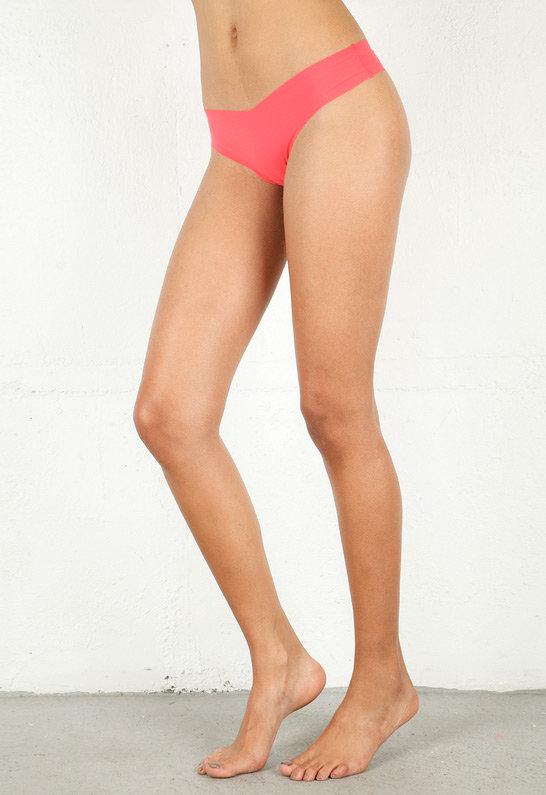 Commando Underwear Thong in Lipstick Pink