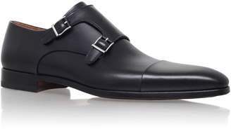 Magnanni Half rs tc double monk buckle shoe