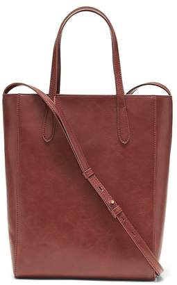 Banana Republic Vegan Leather Mini Tote