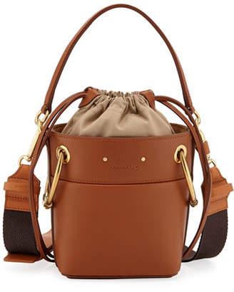Chloé Roy Mini Calf Leather Bucket Bag