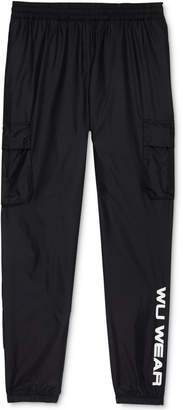 Wu Wear Men's Nylon Cargo Track Pants