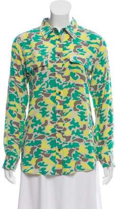 Equipment Silk Camouflage Blouse