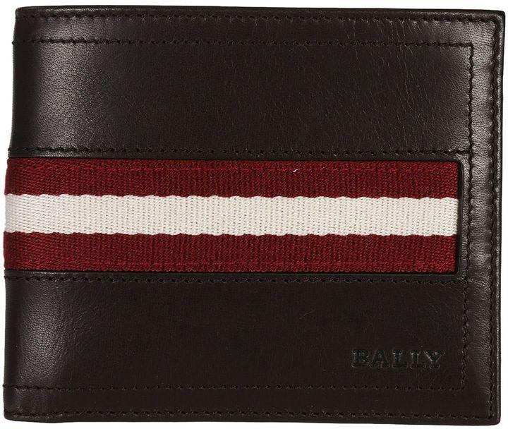 BallyBally Tollent Stripe Panel Wallet