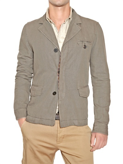 Aquascutum London Linen And Cotton Casual Jacket