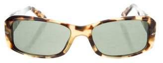 Persol Tortoiseshell Square Sunglasses