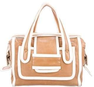 Pierre Hardy Bicolor Leather Handle Bag