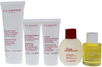 Clarins Body 5Pc Grab & Fly Kit