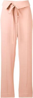 Maison Flaneur high-waisted trousers
