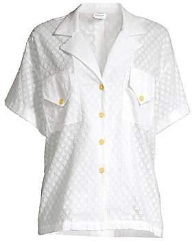 Rhode Resort Women's Oliver Textured Button-Up Shirt