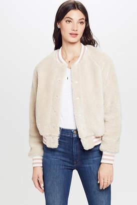 Mother Letterman Snap Jacket