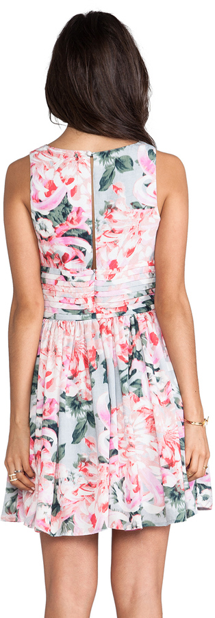 BB Dakota Zurie Floral Mini Dress