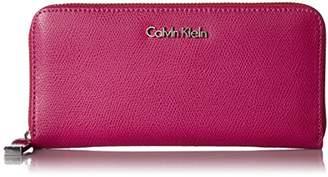Calvin Klein Mercury Leather Zip Around Wallet