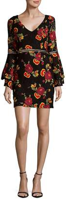 Alexia Admor Women's Ruffled Floral Dress